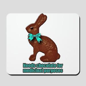 Chocolate for Medicinal purpo Mousepad