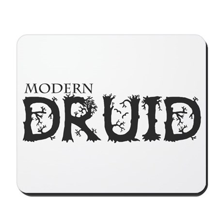 Modern Druid Mousepad