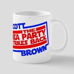 Scott Brown The Tea Party Strikes Back Mug