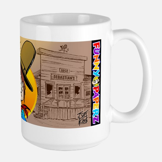 """OLD SEBASTIAN'S"" by Joe King Large Mug"