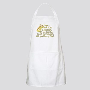 Will you marry Daddy? BBQ Apron