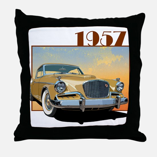 The Golden Hawk Throw Pillow