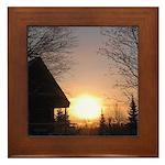 MCK Sunrise Framed Tile