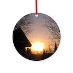 MCK Sunrise Ornament (Round)