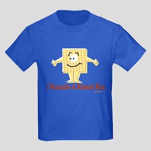 Wannabe Matzo Man Passover Kids Dark T-Shirt