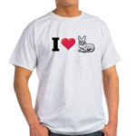 I Love Corgi2 Light T-Shirt