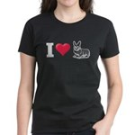 I Love Corgi2 Women's Dark T-Shirt
