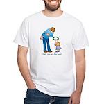 Best Dad White T-Shirt