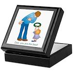 Best Dad Keepsake Box