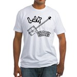 LJK Cigar Box Guitars Fitted T-Shirt