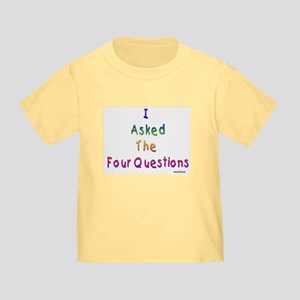4 Questions Passover Toddler T-Shirt
