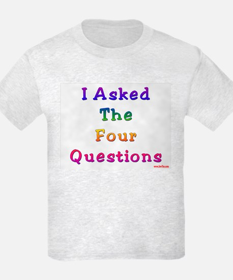 Four Questions Passover T-Shirt