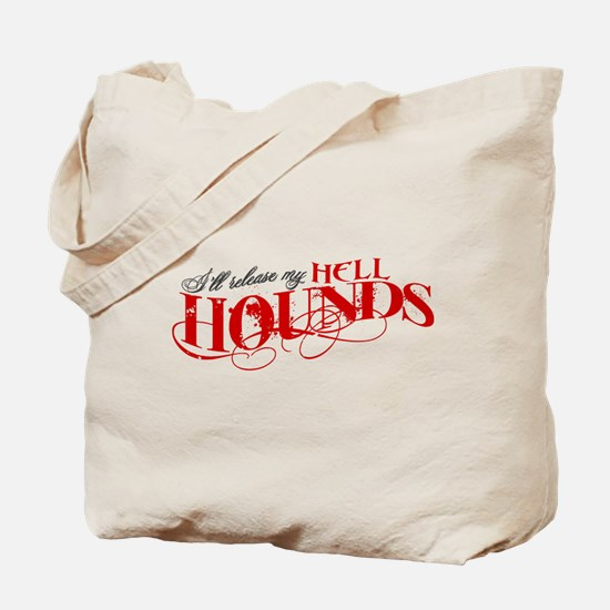 Hellhounds on the Way Tote Bag