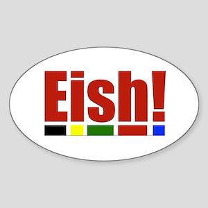 Eish! Oval Sticker