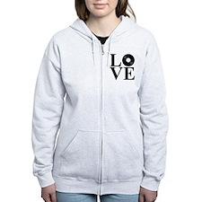 LOVE Women's Zip Hoodie