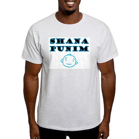 Shana Punim Ash Grey T-Shirt