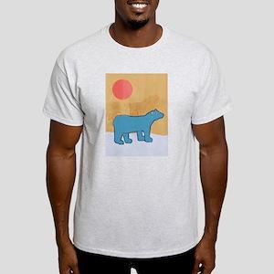 Blue Bear Ash Grey T-Shirt