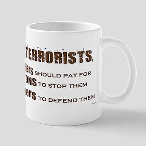 Scott Brown - Dealing With Terrorists Mug