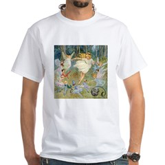 dancing in the fairy White T-Shirt