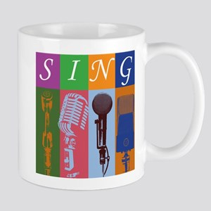 Microphones with 8 Colors and Mug