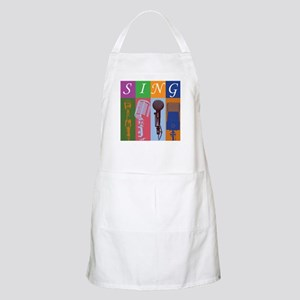 Microphones with 8 Colors and Apron