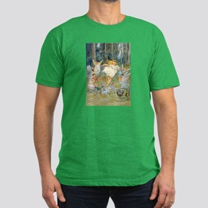 dancing in the fairy Men's Fitted T-Shirt (dark)
