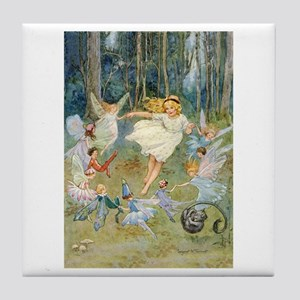 dancing in the fairy Tile Coaster