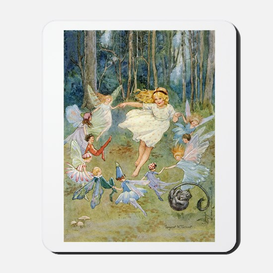 dancing in the fairy Mousepad