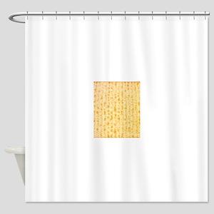 Matzo Passover 4Joshua Shower Curtain