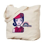 Flight 815 Stewardess Tote Bag