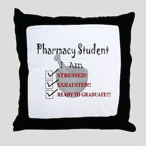 PharmD Throw Pillow