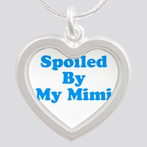 Spoiled By My Mimi Silver Heart Necklace