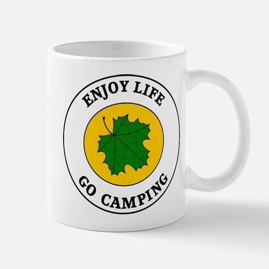 Enjoy Life Go Camping Mug