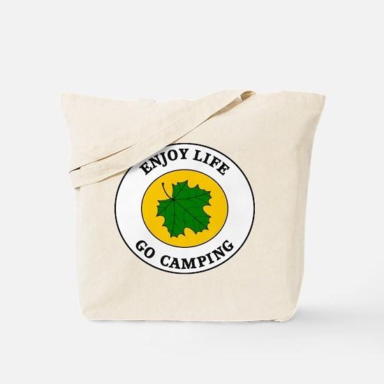 Enjoy Life Go Camping Tote Bag