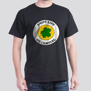 Enjoy Life Go Camping Dark T-Shirt