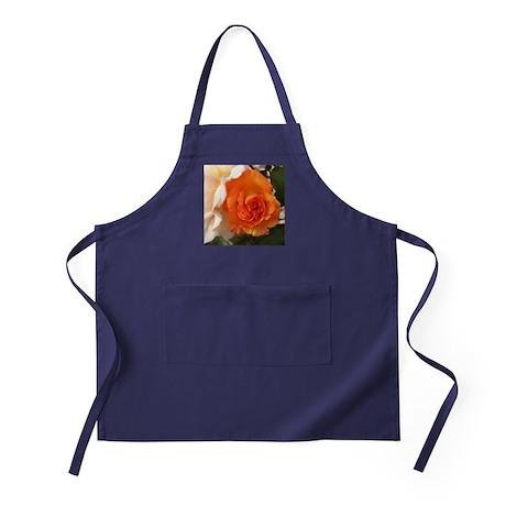 Orange Rose Apron (dark)