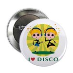 I Love Disco Button