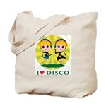 I Love Disco Tote Bag