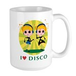 I Love Disco Large Mug
