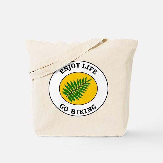Enjoy Life Go Hiking Tote Bag