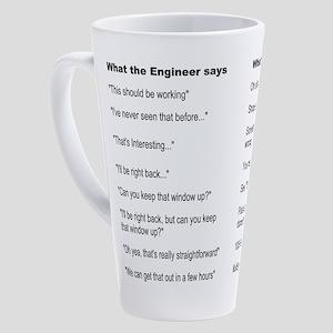 Engineer Translation Guide 17 oz Latte Mug