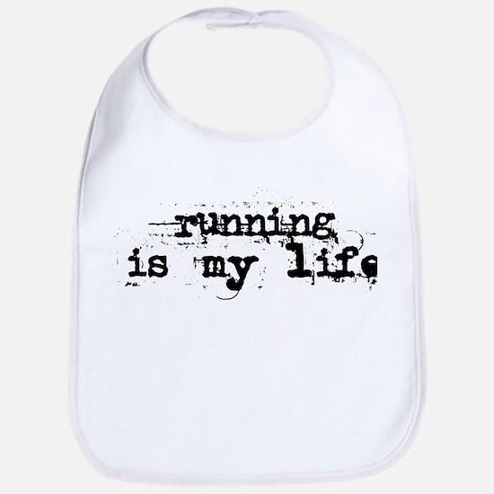 Running is my life Bib