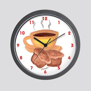COFFEE AND MUFFINS Wall Clock