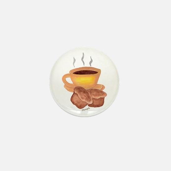 COFFEE AND MUFFINS Mini Button