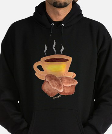 COFFEE AND MUFFINS Hoodie (dark)