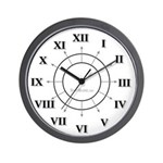 Traditional Roman Numeral Wall Clock
