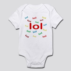 Laughing Out Loud Infant Bodysuit