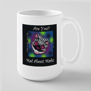Mad About Masks Large Mug