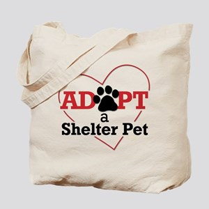 Adopt a Shelter Pet Tote Bag