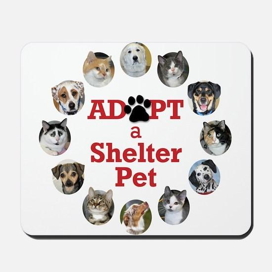Adopt a Shelter Pet Mousepad